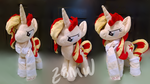 Sunset Shimmer Custom Plush by Zombies8MyWaffle