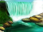 Waterfall by sarikha