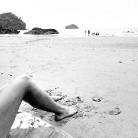 sand in my toes by chuckhead