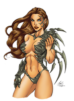 Witchblade Color by LazerBat