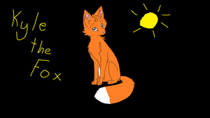 Kyle the Fox (actual fox) by QuilavaGirl21