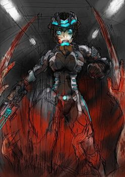 Dead space by Exaxuxer