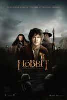 The Hobbit theatrical fan poster 2 by crqsf