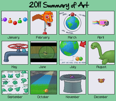 2011 summary of art by Kath602
