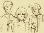 Jack, Meredith And Yago by excellentuniverse