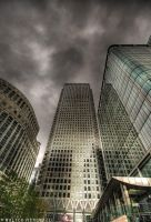 Canary Wharf Tower by colpewole