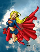 supergirl color by chachaman