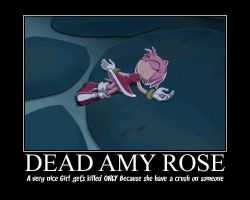First Motivational Poster: ANTI ANTI AMY!!!!! by JennySaphireLeyla