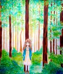 Forest Girl by TwinOfTwins