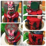 Welcome to Silent Hill cake! by LaIrish
