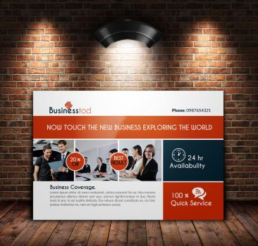 Multi Use Business Post Cards by Designhub719