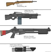 Gun Variants 18 by Marksman104