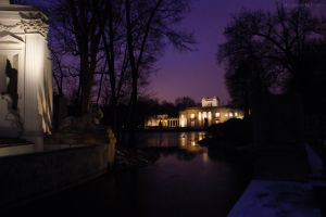 Palace on the island - Warsaw by Izulith