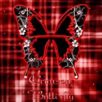 Crimson Butterfly by BaroqueWorks1