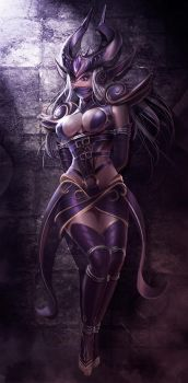 Syndra by NinjArt1st