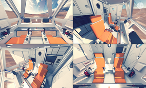 Rover's Cabine Interior for Real Universe by Gabritel