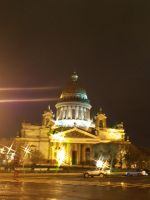 St. Isaac's Cathedral by Dynkan-coon