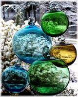 Glass Globes:View of the world by Silver-Dew-Drop