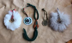 2012 Holiday Ornaments 2 by lupagreenwolf