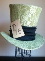 Classic Disney Mad Hatter Top Hat by PandoraLuv