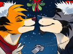 Xmas couples icons by SilverDeni
