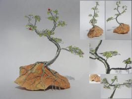 Mini Wire Bonsai by SaraL0UISE