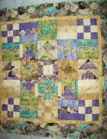 My Quilt  Topper , Batting, And Backing by Faith-Bailey