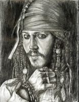 Darker Captian Jack Sparrow by ladyshawn