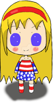 USA Chibi by XShadowkatX