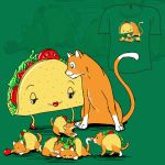 Woot Shirt - Taco Cat by fablefire