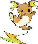 Raichu by HappyCrumble