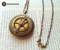 Timely Gears Steampunk Locket by AetherWidgets