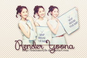 [261214] RENDER YOONA [ BY YUIN ] by HunhanStyle