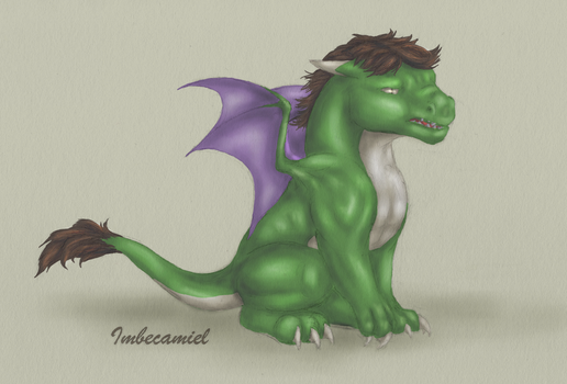 Baby Hulk Dragon by Imbecamiel