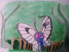 Kanto no. 012 Butterfree by Randomous
