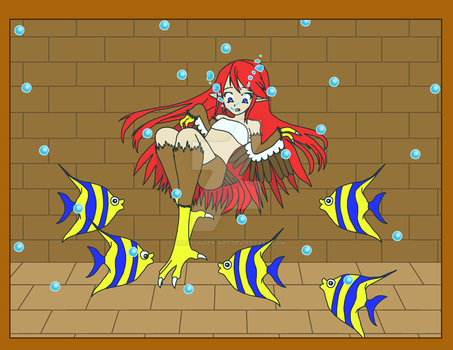 Screeching with the Fishes by TheThunder-Art