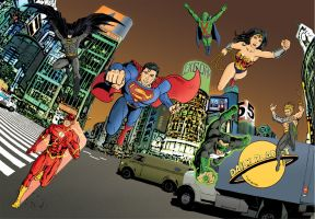 JLA - Dave Lowther by DaveLowther