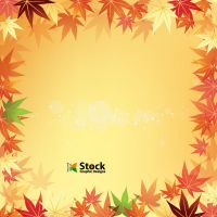 Free Autumn Leaf Background Vector by Stockgraphicdesigns
