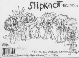 Slipknot Request by Violent-Rainbow