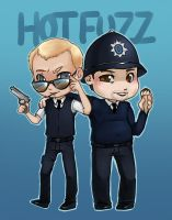 Commission: HOT FUZZ by Kinky-chichi