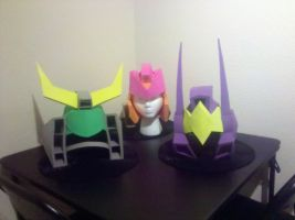 3 Helmhats by Laserbot
