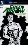 Diggle Green Arrow Sketch Cover by ibroussardart