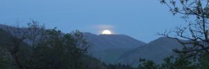 Moonrise at Sundance by PamplemousseCeil