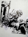 Rendition: Bernie Wrightson's artwork by ArtExCorde