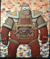 Krang metallic by legumebean