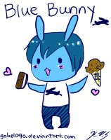 Blue Bunny Ice Cream by gohe1090