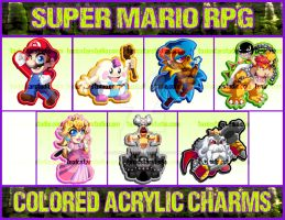 Super Mario RPG Charms! by ToxicStarStudio