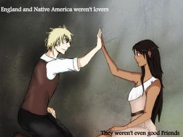 Hetalia headcanon England and Native America by LaRaeXandXNinjas