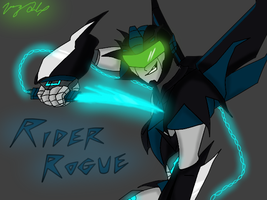 TF OC: Rider Rogue by ToniMizukiPrime