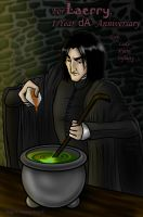 :Brewing Snape: for Laerry 1yr by LadyNyaruInfinity